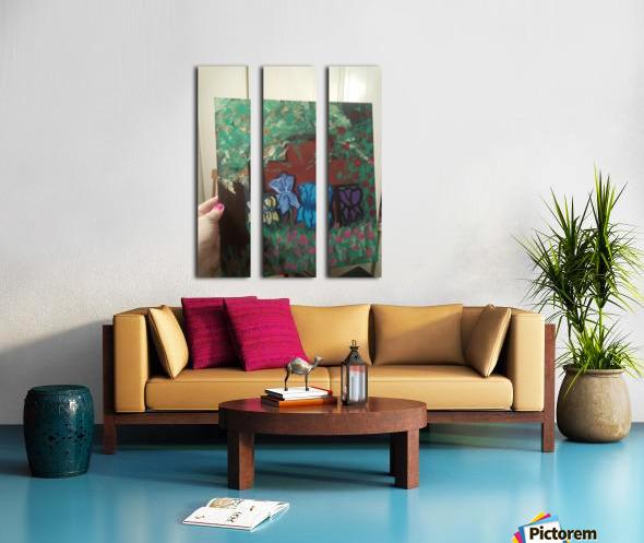 Forgotten Split Canvas print