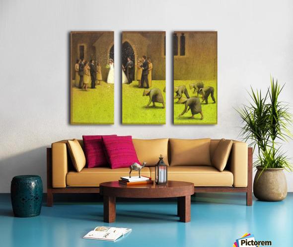 PawelKuczynski31 Split Canvas print