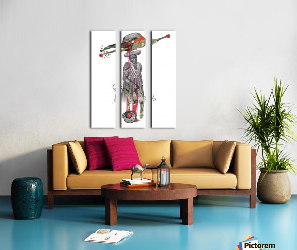 Herero Woman 8 Split Canvas print