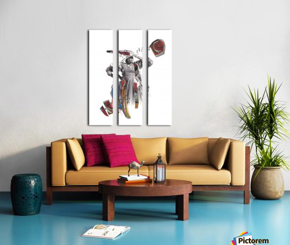 Herero woman 1 Split Canvas print