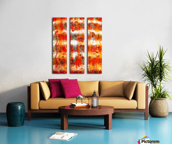 Corrugated Iron Series 13 Split Canvas print