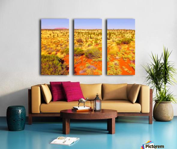 Dune Landscape - Central Australia Split Canvas print
