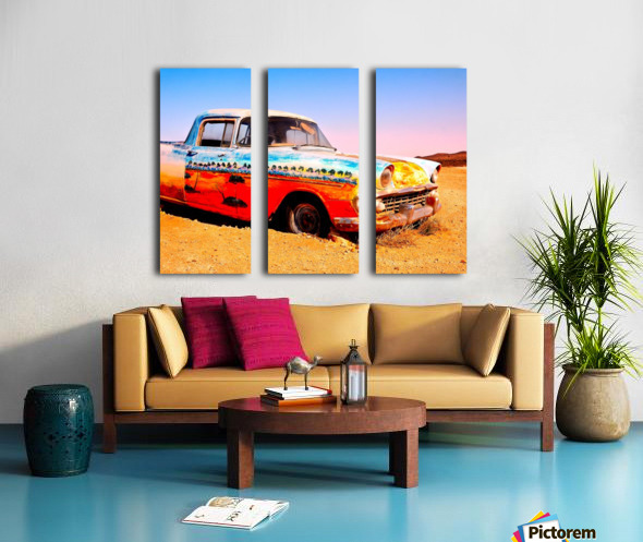 Quirky Sights of the Outback 4 Split Canvas print