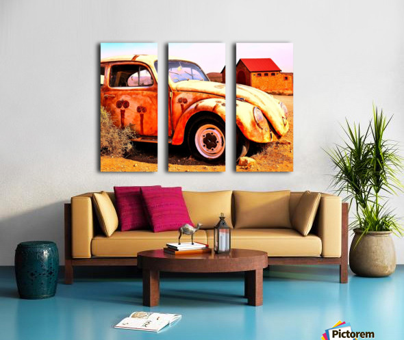 Quirky Sights of the Outback 5 Split Canvas print