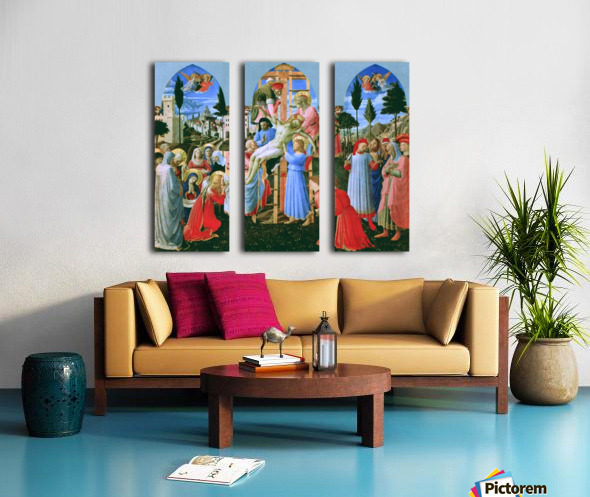 The Deposition from the Cross Split Canvas print