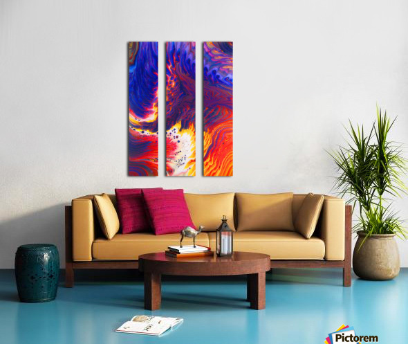 Kindle Your Inner Flame Split Canvas print