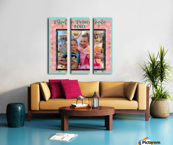 Papo's Princesses 2010 Split Canvas print
