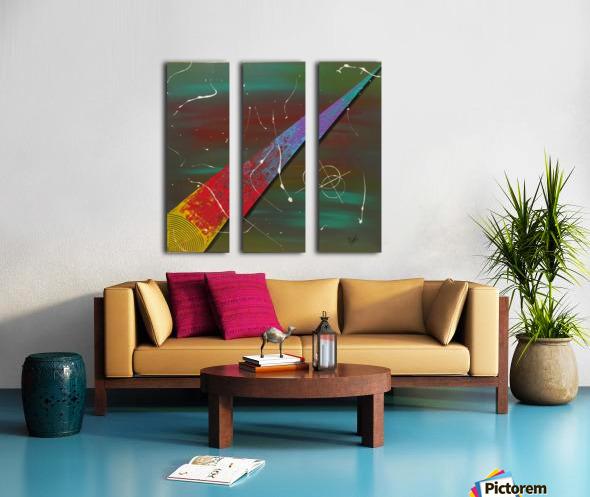 Path à linfini  Split Canvas print