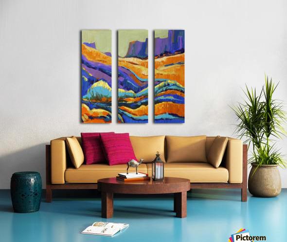 The Grand Canyon_8 18x18 Split Canvas print
