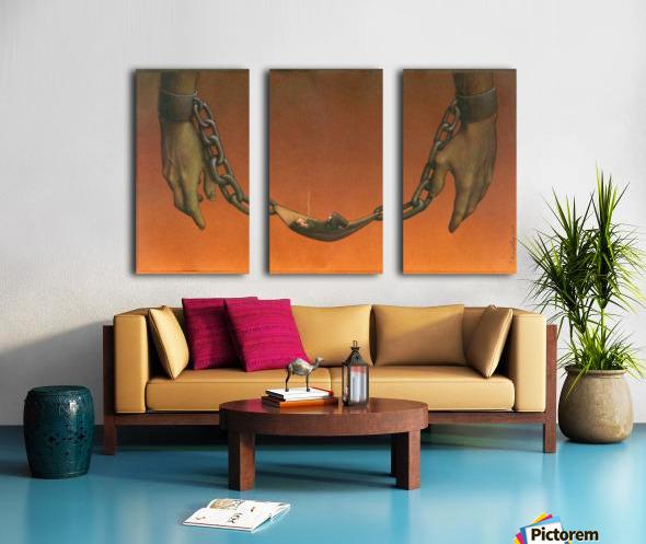 PawelKuczynski43 Split Canvas print