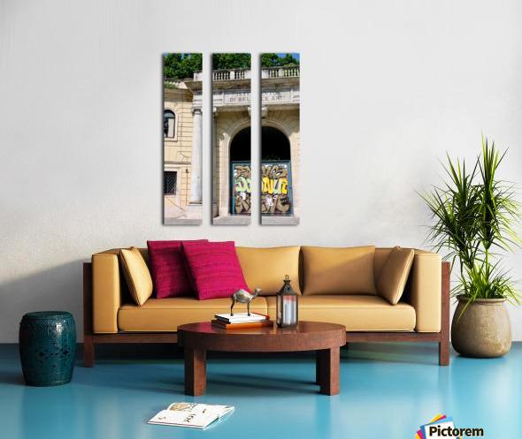 School of Fine Art Split Canvas print
