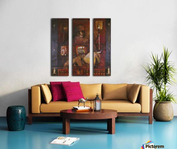 Fantasia 1 Split Canvas print