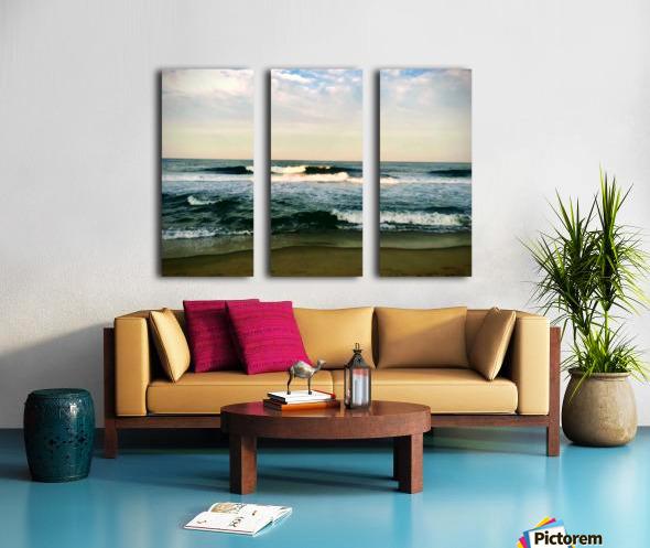 July Surf Split Canvas print