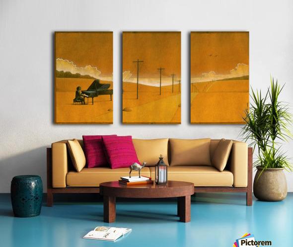PawelKuczynski59 Split Canvas print
