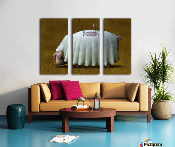 PawelKuczynski60 Split Canvas print
