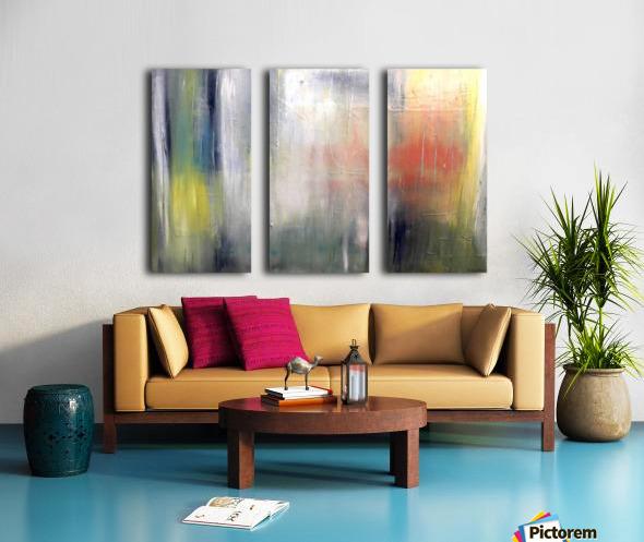 A New Way Split Canvas print