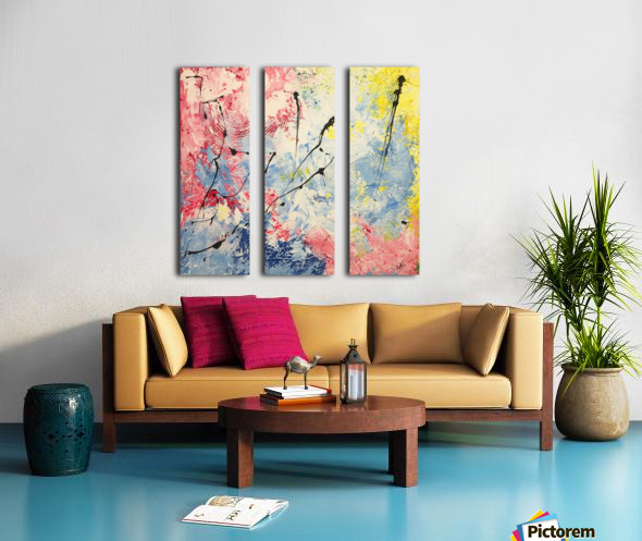 SAISONS Split Canvas print