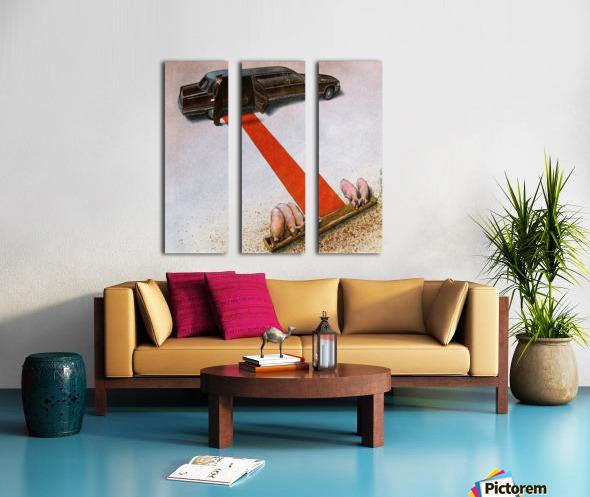 PawelKuczynski62 Split Canvas print