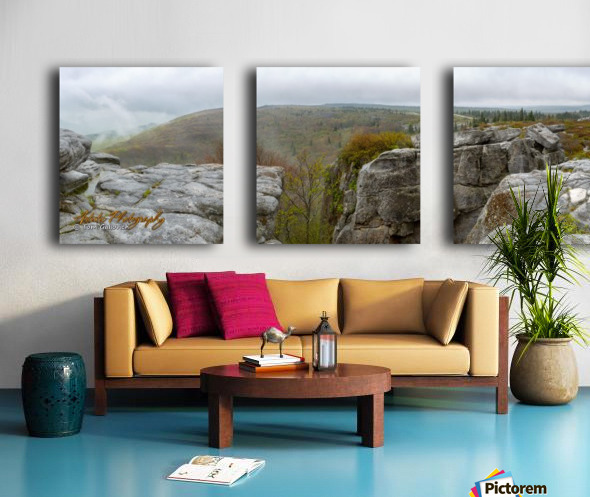 Approaching Storm Split Canvas print