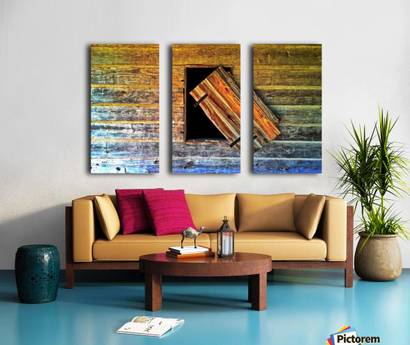 Hanging on Split Canvas print