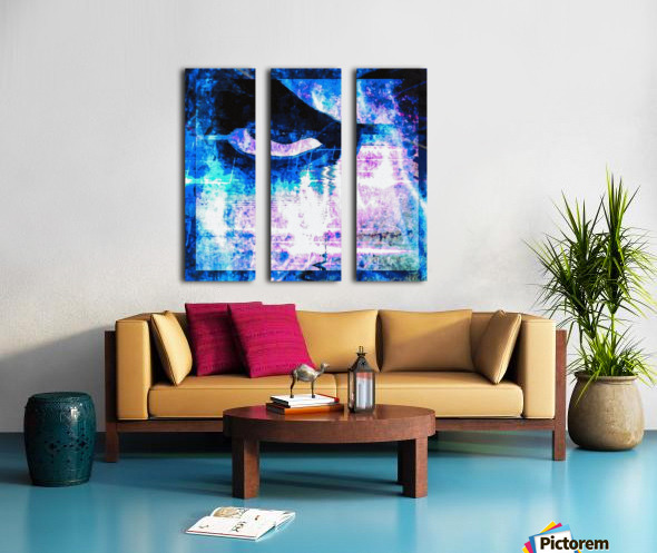 Modern Eye 1 Split Canvas print