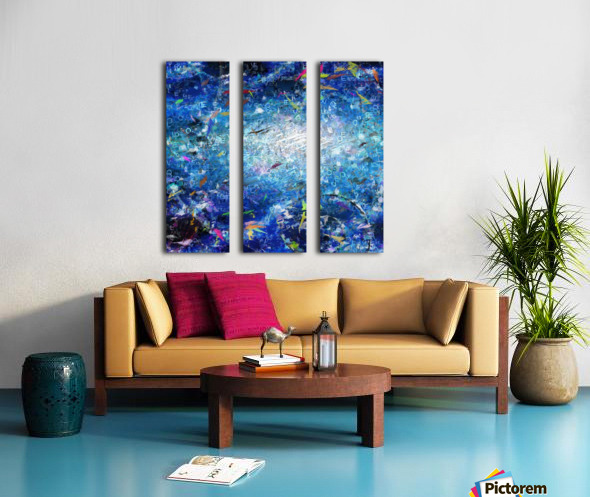 Abstract Canvas Split Canvas print