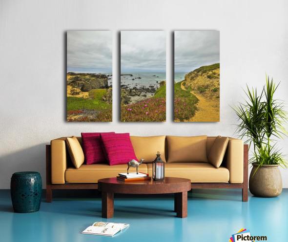 the painting Split Canvas print