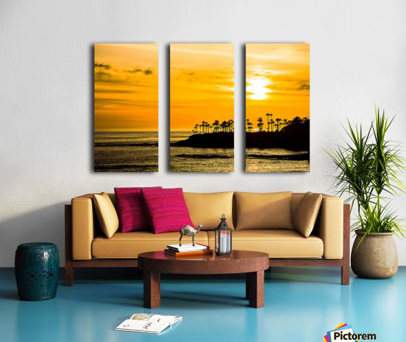California Dreamin Split Canvas print