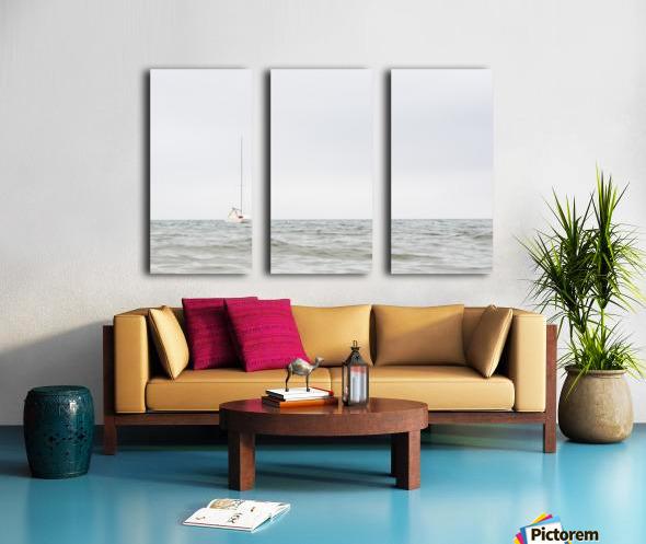 Prendre le large 2 Split Canvas print