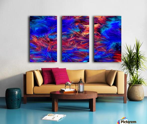 Colored Lines Split Canvas print