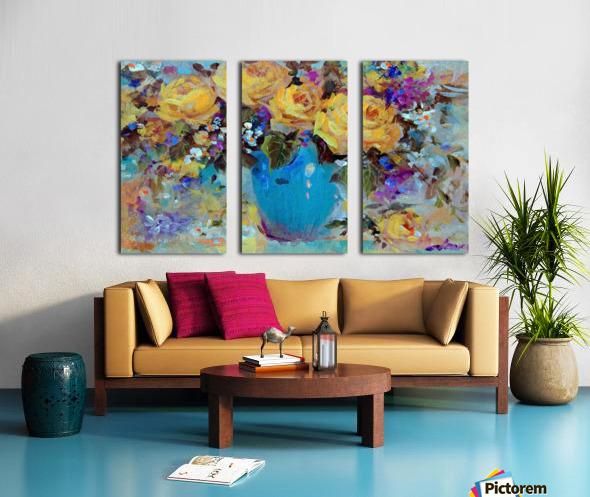 Star Fish Split Canvas print