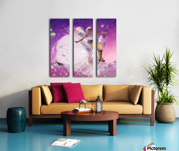 FAIRY Split Canvas print