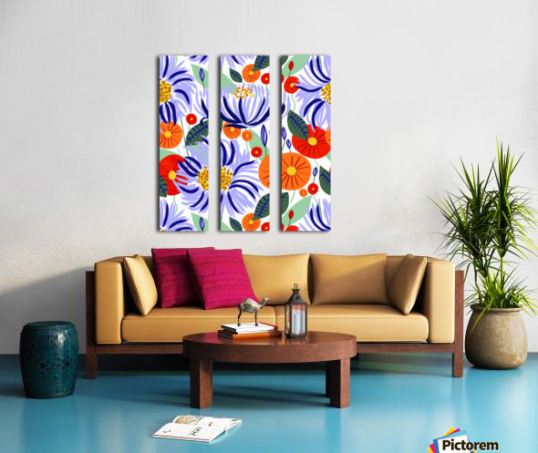 Alia Split Canvas print