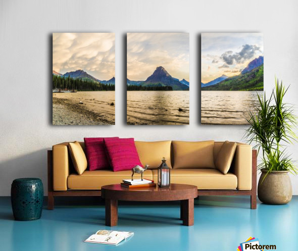 Two Medicine Split Canvas print