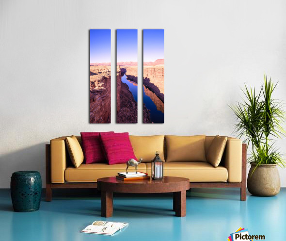 Marble Canyon Split Canvas print
