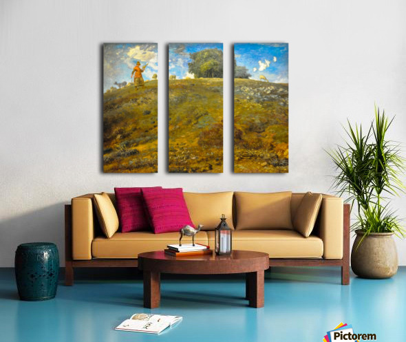 In the Auvergne Split Canvas print
