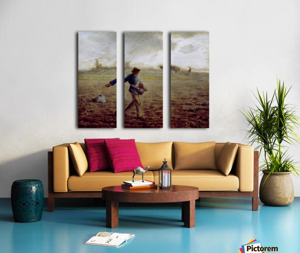 The Sower - Walters Split Canvas print
