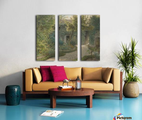 Lot Split Canvas print