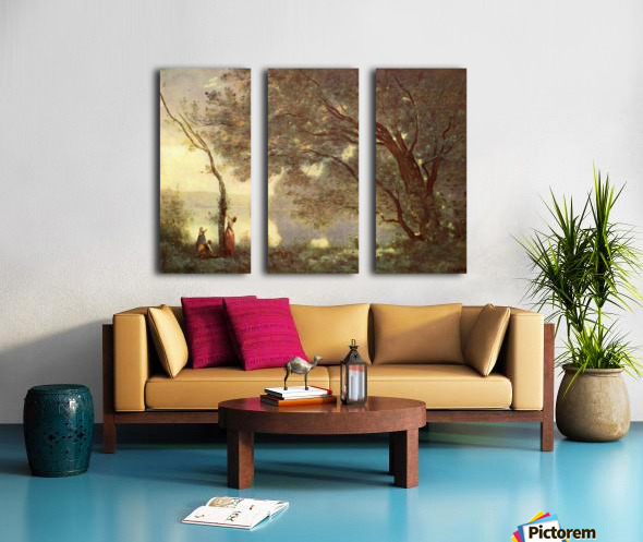 Camille Corot Split Canvas print