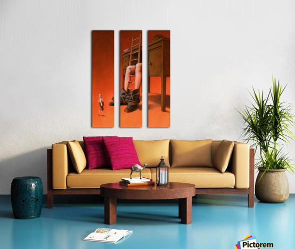 office Split Canvas print
