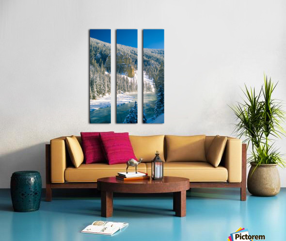23 Below Split Canvas print
