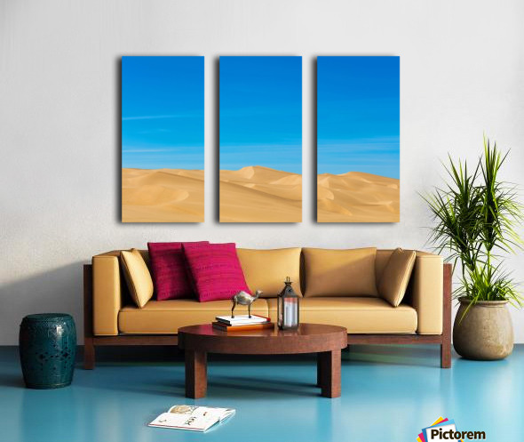 Painters dream Split Canvas print