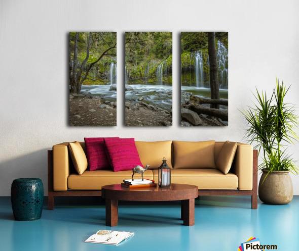 Secret Location Split Canvas print