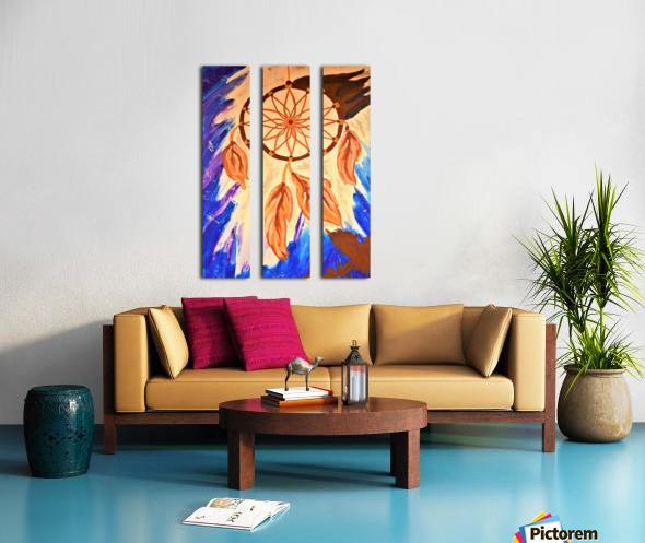 Dreamcatcher.Glenn N Split Canvas print