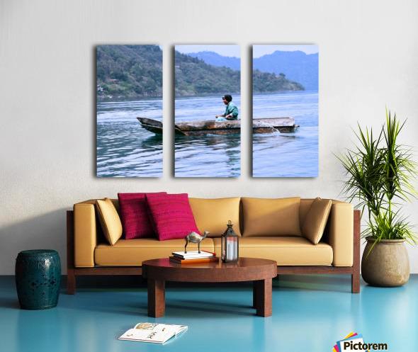 En Lago de Atitlan, Guatemala Split Canvas print