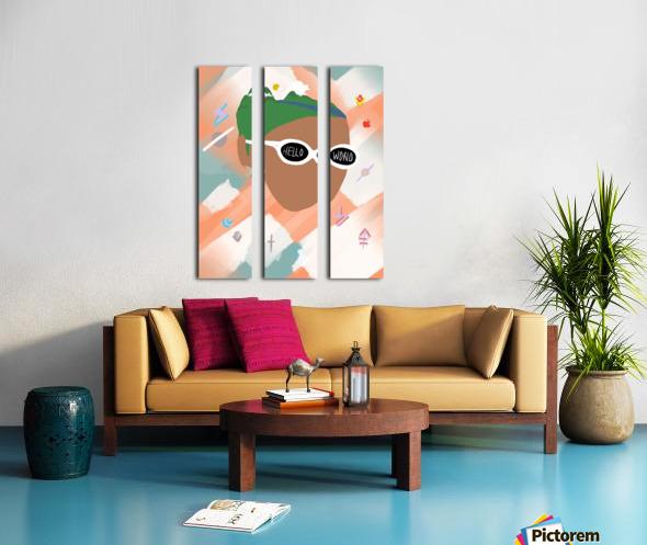 mother Split Canvas print