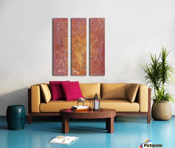 Ghost Split Canvas print