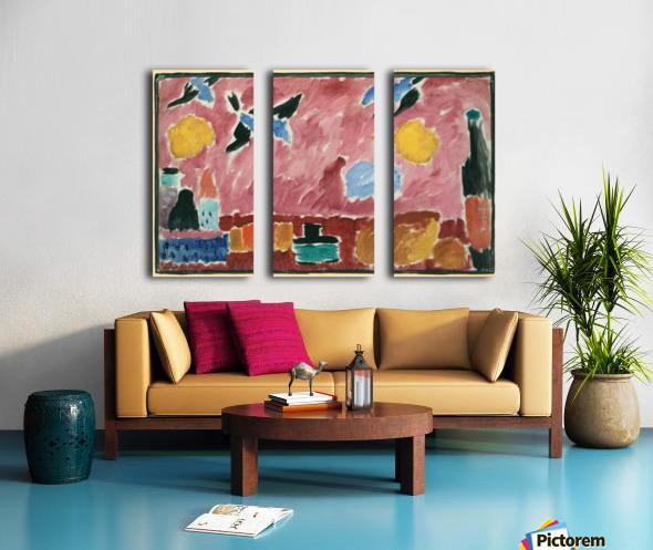 Painting Split Canvas print