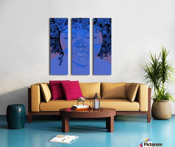 Music Split Canvas print