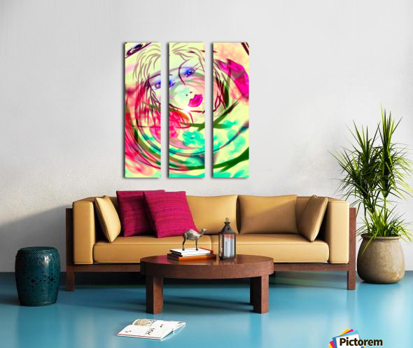 amália Split Canvas print